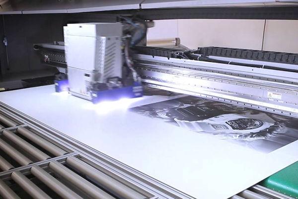 УФ-печать на пластике