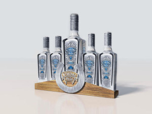 Шелфтокер для бутылок Казацкая Рада