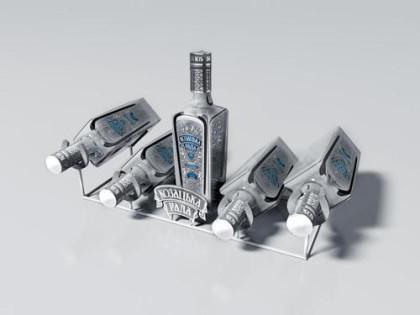 Подставка для бутылок Казацкая Рада