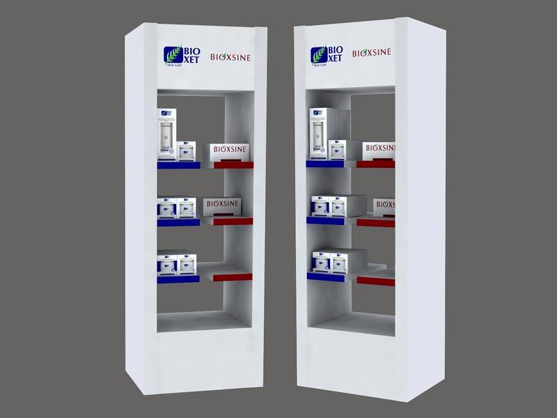 3D дизайн дисплея Bioxet
