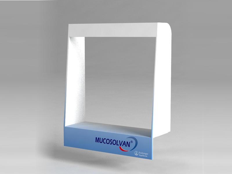 3D дизайн POS дисплеев на кассе