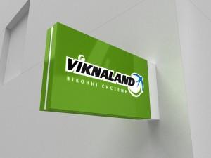 Изготовление и дизайн лайтбокса для компании Viknalend