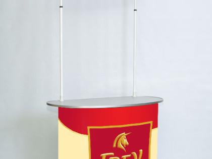 Изготовление рекламной стойки для компании Frey