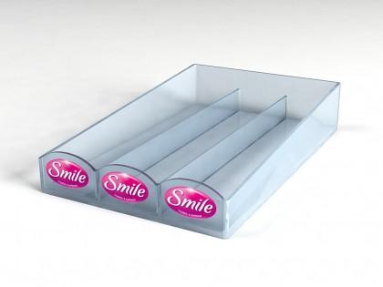 Разработка дизайна дисплеев для торговой марки Смайл