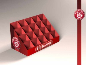 Дизайн рекламного дисплея для компании teekanne