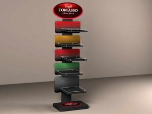 Рекламная стойка для компании tomasso