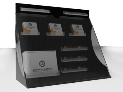 Дизайн дисплея електронных сигарет