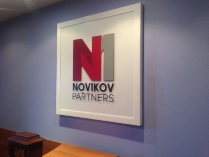 Вывески NOVIKOV PARTNERS