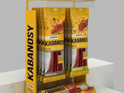Рекламный дисплей для ТМ «Kabanosy»